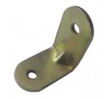 Кутник з ребром жорсткості оцинк.  20 х 20 х 15 мм (200 шт/уп)